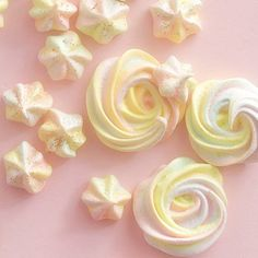 Rainbow Meringue Cookies ~ Your multi-occasion holiday treat - perfect as a St. Patrick's Day dessert and Easter dessert!