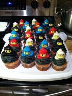 Ninja Cupcake Toppers 100 Edible Ninja cupcakes Cupcake