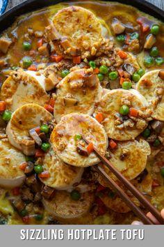 Asian Tofu Recipes, Vegetarian Recipes, Healthy Recipes, Ethnic Recipes, Healthy Meals, Tofu Dishes, Malaysian Food, Tasty Bites, Latest Recipe
