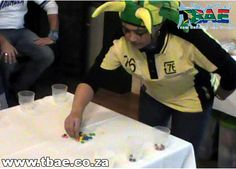 Trafalgar Minute to Win It Team Building Bellville Cape Town Team Building Events, Team Building Activities, International Games, Minute To Win It, Cape Town