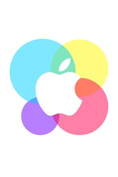 Apple Bubbles Wallpaper