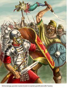 Trajan's Dacian Campaign, by Popius on DeviantArt History Of Romania, Rome History, Ancient History, Wolf Warriors, Roman Warriors, Ancient Rome, Ancient Art, Imperial Legion, Medieval World