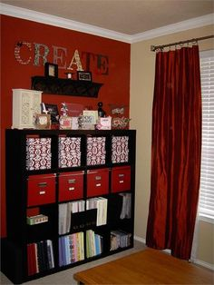 Scrapbook Room ~ Expedit Bookcase
