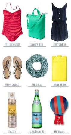 Summer Essentials: A Day At The Beach