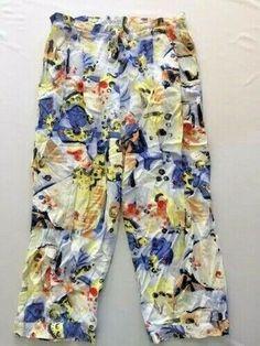 Size Small Jams World Drawstring Capri Pants Womens Bali Thai Print Cute Clothes For Women, Pants For Women, Drawstring Pants, Patterned Shorts, Bali, Capri Pants, Floral Prints, Cute Outfits, Casual