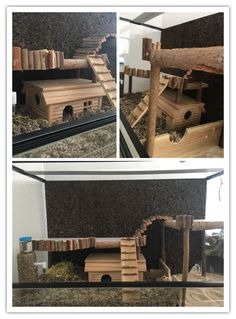 Naturnahe Hamstergehege 120cm X 60cm Terrarium F 252 R