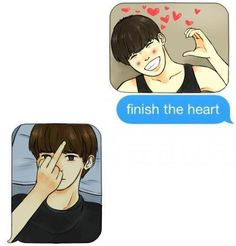 Now now Jungkook, don't be so rude and disrespectful to your hyung!