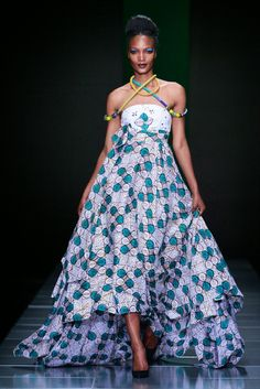 Mustapha Hassanali AFROTURE collection at MBFW AFRICA in SOUTH AFRICA
