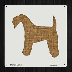 Kerry Blue Terrier Dog Style 2049 , DIY Plastic Stencil Acrylic Mylar Reusable -- You can get additional details at the image link.