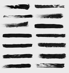 14 free High Res Mixed Brushes Pack for Photoshop