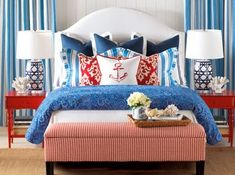 Everything Coastal....: Time for a Coastal Bedroom Redo. How about a Nautical Theme?