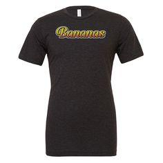 Vegan Clothing - Vegan Shirt - Bananas