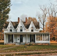 ornate fall farmhouse