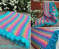 Rainbow Dash Baby Blanket - FREE Pattern