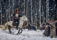 """""""Mi piace"""": 126, commenti: 1 - Certamen Histórica Ubeda (@certamennovelahistoricaubeda) su Instagram: """"Estupenda foto de recreacion  de las guerras napoleónicas en Rusia.  #napoleonicwar #napoleon…"""""""