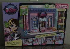 Littlest Pet Shop LPS Style set 3 exclusive pets, figures lot, playset #Hasbro