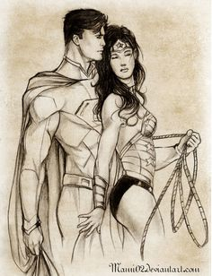 NEW DC COMICS FAN ART THE NEW 52 2013 | SM-WW : Love in the new 52 by ~Mami02 on deviantART