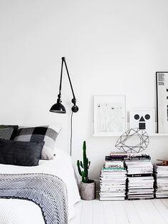 monochrome apartment. More