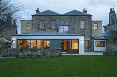 A rear extension a great way to bring your home into the century. Extension Veranda, House Extension Design, Extension Designs, Glass Extension, Roof Extension, House Design, Extension Ideas, Architecture Extension, Modern Architecture
