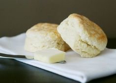 Southern Buttermilk Biscuits SKH: this recipe is golden.  Used self rising flour instead and they came out perfect!