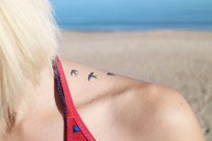Mini Tattoos, Watercolor Tattoo, Hearts, Small Tattoo, Temp Tattoo, Watercolor Tattoos