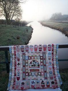 Supergoof Quilts: Willemijn's kraamquilt