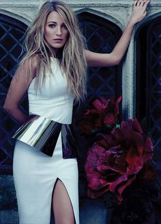 blake - modern glam #chic #effortless #photoshoot #white #dress #gown #couture #fashion #outfit #simple