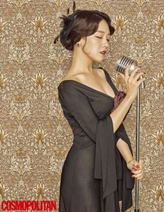 Minah is a sophisticated 1930's lady for 'Cosmopolitan' | allkpop.com