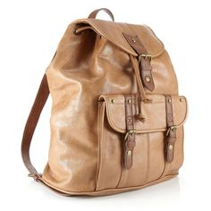 Accessorize PU Rucksack ($68) ❤ liked on Polyvore