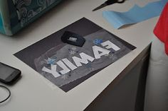 Leirad's Card Making Corner: Inexpensive way of tranferring Vinyl