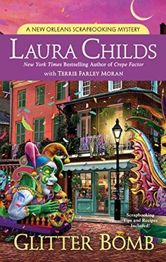 10-2-18 Glitter Bomb (A Scrapbooking Mystery) by Laura Childs https://www.amazon.com/dp/0451489543/ref=cm_sw_r_pi_dp_U_x_No0aBbBB0272V