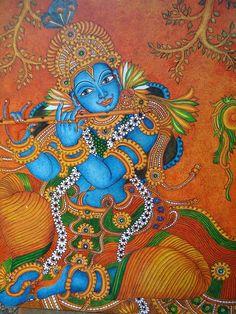 Krishna | Mural painting -Krishna
