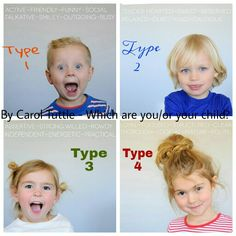Carol Tuttle (Child Whisperer Book) Which type is your child?