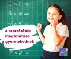 A szorzótábla megtanítása a gyermekednek - Matek Érthetően Hair Beauty, Math, Creative, Math Resources, Cute Hair, Mathematics