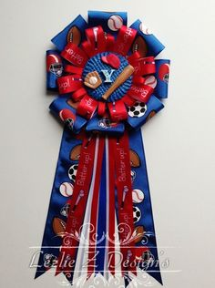 Baseball Theme -All Star Sports- Mom to Be -Baby Shower Corsage..... on Etsy, $18.00