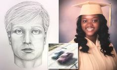 Sketch released of road rage driver who gunned down 18-year-old girl