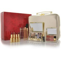 ESTEE LAUDER Glamour Is Golden Blockbuster Make Up Set found on Polyvore
