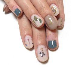 Nail Art, Flower, Nails, Beauty, Finger Nails, Ongles, Cosmetology, Nail Arts, Nail Art Designs