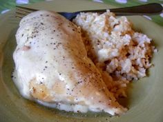 Cream Cheese Chicken in the Crock pot.