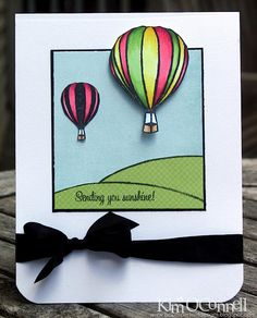 Paper Perfect Designs by Kim O'Connell:  black vintage seam binding