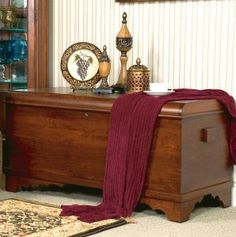 cedar chest coffee table