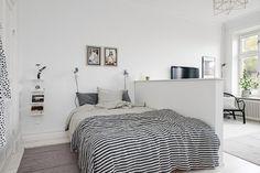 Квартира в Швеции — пример умного использования маленькой площади | http://idesign.today/dizajn-interiera/kvartiry-v-shvecii