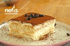 Kedidili Bisküvili Hafif Balkabağı Tatlısı - Nefis Yemek Tarifleri Fresh Pasta, Truffles, Tiramisu, Tart, Ethnic Recipes, Food, Pie, Essen, Truffle