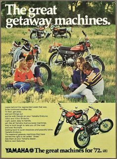 1972 Yamaha Enduro`s | Flickr - Photo Sharing!