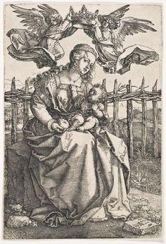 Albrecht Durer - Madonna Crowned by Two Angels - Christopher-Clark Fine Art