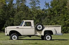 FEATURE: 1963 Ford F100 4x4 Brad owns a truck like this! It's his baby