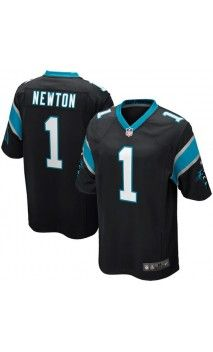 NFL Mens Carolina Panthers Cam Newton Black Game Jersey  carolinapanthers   camnewton  superbowl cfa4907b0
