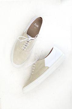 FOLK, Isa Sneaker, White |