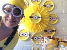 Throw a fun minion party and use some of these DIY ideas and decor.