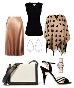 """""""Untitled #263"""" by rubysparks90 on Polyvore featuring Miss Selfridge, Velvet by Graham & Spencer, Burberry, Nicholas Kirkwood, Victoria Beckham, Jennifer Fisher and Gucci"""